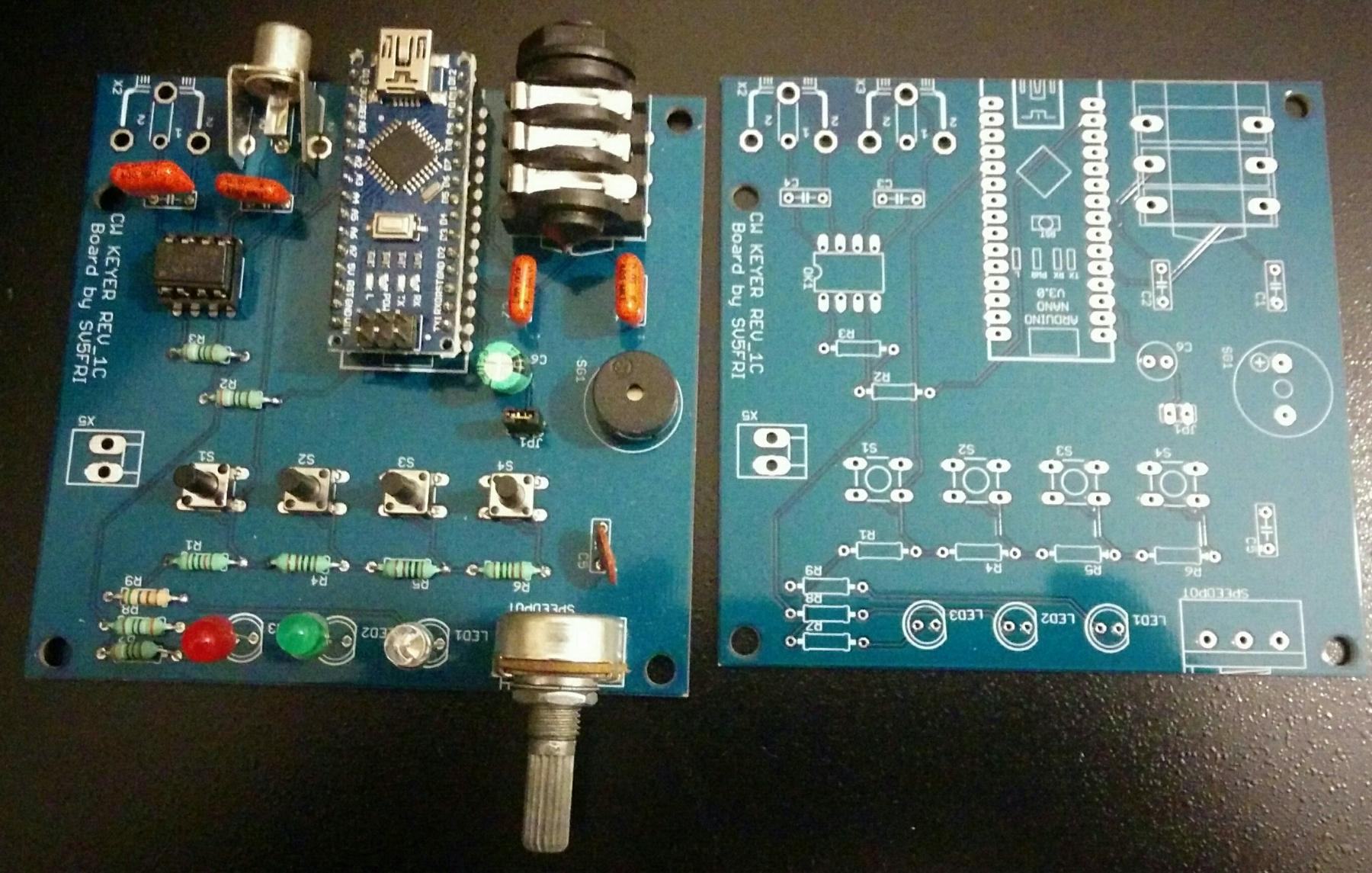 CW Keyer with Arduino Nano – SV5FRI