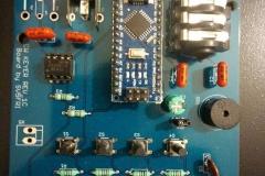 CW Keyer construct by SV5FRI