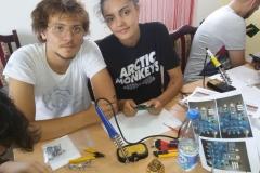 Young operator camp on Zlatibor, Serbia