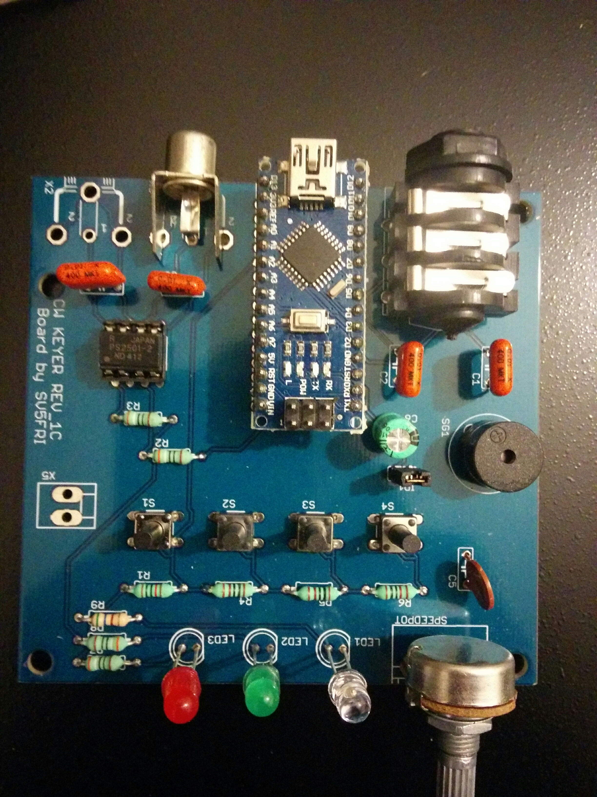 CW Keyer with Arduino Nano – SV5FRI